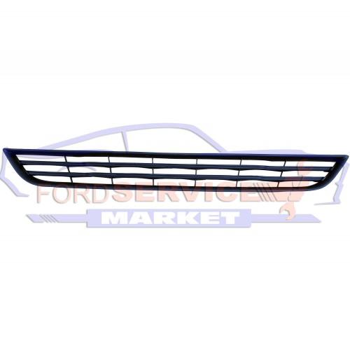Решетка переднего бампера нижняя матовая неоригинал для Ford Fiesta 7 с 12-18