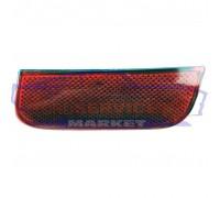 Отражатель катафот заднего бампера левый неоригинал для Ford Fusion c 02-12, Focus 2 c 04-07 универсал