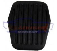 Накладка педали тормоза аналог для Ford Focus 2, 3 с 04-18, C-Max 1, 2 с 03-18, Kuga 1, 2 с 08-19, S-Max с 06-15, Galaxy с 06-14