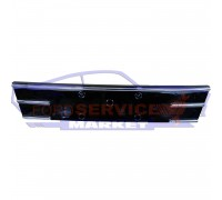 Решетка переднего бампера центральная глянец с хромом неоригинал для Ford Kuga 2 c 13-16, Escape c 13-16