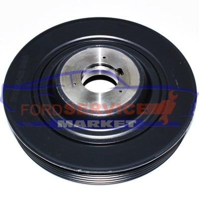 Шкив коленвала неоригинал для Ford Fiesta 6 c 02-08, Fusion c 02-12 для 1.25-1.4-1.6 Sigma/Duratec