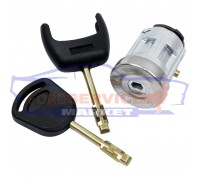 Ремккомплект замка зажигания с 2 ключами неоригинал для Ford Fiesta 6 c 02-08, Fusion c 02-12