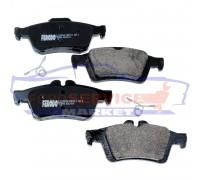 Тормозные колодки дисковые задние неоригинал для Ford Focus 2 c 04-11, C-Max 1 c 03-10