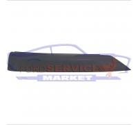 Спойлер переднего бампера левый губа ST-Line / Sport аналог для Ford Focus 3 c 14-18