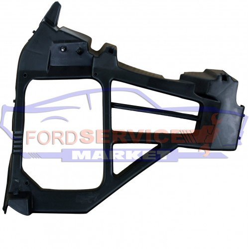 Кронштейн крепление заднего бампера левый неоригинал для Ford Focus 2 c 08-10 хетчбек