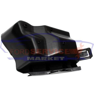 Кронштейн крепление заднего бампера левый аналог для Ford Fiesta 7 c 08-18 EURO хетчбек