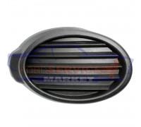Накладка заглушка ПТФ левая глухая черная структура неоригинал для Ford Focus 3 с 11-14