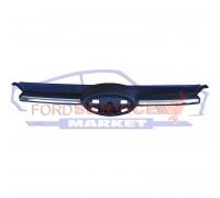 Решетка радиатора верхняя хром без эмблемы неоригинал для Ford Focus 3 c 11-14
