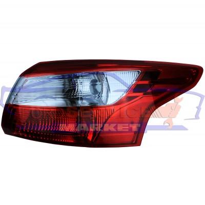 Фонарь стоп задний правый внешний неоригинал для Ford Focus 3 c 11-14