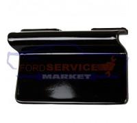 Заглушка буксировочного крюка переднего бампера аналог для Ford Kuga 2 c 13-16, Escape c 13-16, черный глянец