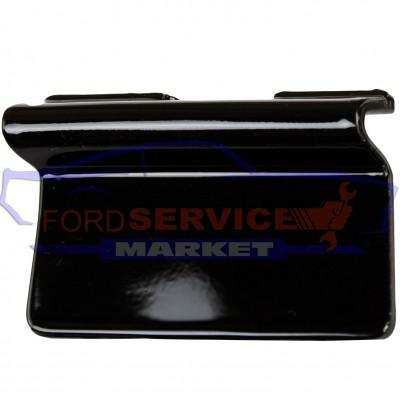 Заглушка буксировочного крюка переднего бампера черный глянец аналог для Ford Kuga 2 c 13-16, Escape c 13-16