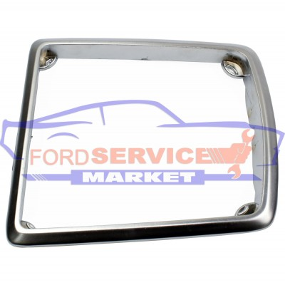 Рамка хром чехла КПП неоригинал для Ford Focus 2 c 04-11, C-Max 1 c 03-10