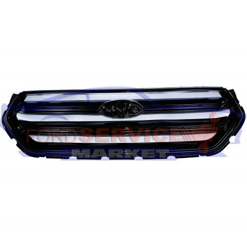 Решетка переднего бампера черный глянец неоригинал для Ford Kuga 2 c 16-19, Escape c 16-19