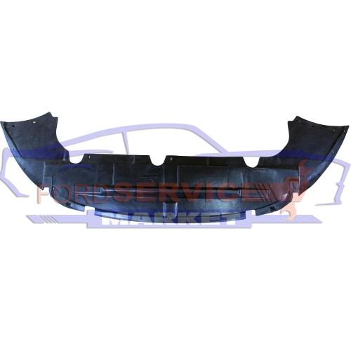 Защита переднего бампера нижняя дефлектор аналог для Ford Focus 2 c 08-10