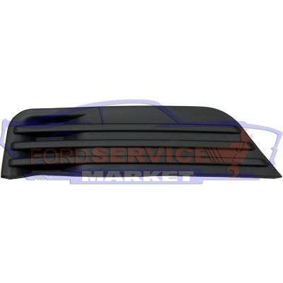 Накладка ПТФ левая аналог для Ford Focus 2 c 04-08, глухая заглушка