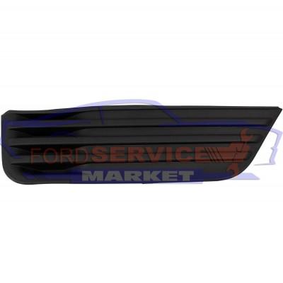Накладка ПТФ правая аналог для Ford Focus 2 c 04-08, глухая заглушка