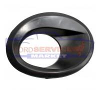Накладка ПТФ левая неоригинал черная для Ford Mondeo 3 c 03-05