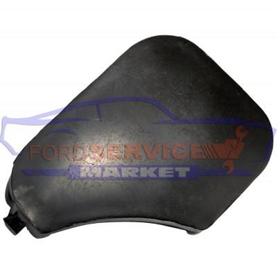 Заглушка буксировочного крюка переднего бампера черная аналог для Ford Fiesta 6 c 05-08