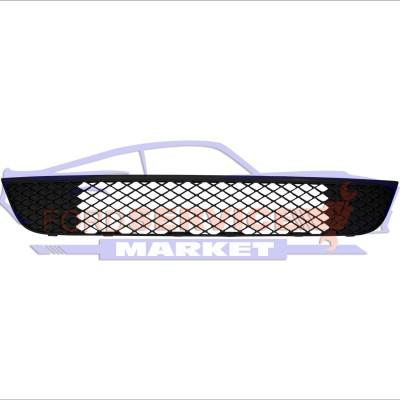 Решетка переднего бампера нижняя неоригинал для Ford Fiesta 6 c 06-08