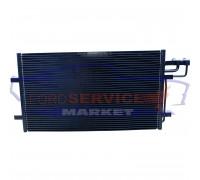 Радиатор кондиционера неоригинал для Ford Focus 2 c 04-11, C-Max 1 c 03-10