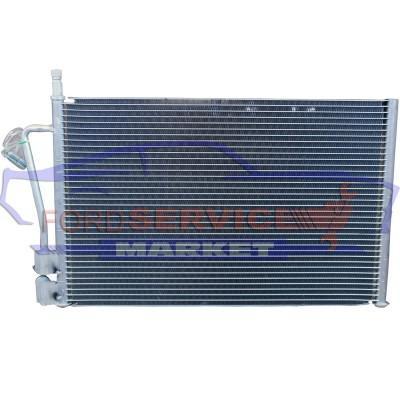 Радиатор кондиционера аналог для Ford Fiesta 6 c 02-08, Fiesta ST150 c 04-08, Fusion c 02-12 для всех типов двигателей