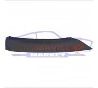 Спойлер губа переднего бампера левая неоригинал для Ford Focus 3 c 14-18 Sport