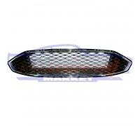 Решетка переднего бампера центральная Sport соты неоригинал для Ford Fusion USA c 17-
