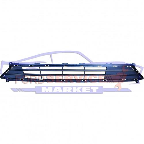 Решетка переднего бампера нижняя черный структура неоригинал для Ford Fusion USA c 19-, Mondeo 5 c 19-