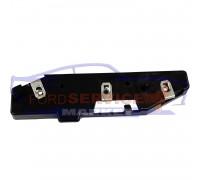 Кронштейн крепления переднего бампера левый неоригинал для Ford EDGE c 15-