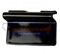 Заглушка буксировочного крюка переднего бампера черная глянец неоригинал для Ford Kuga 2 c 12-17, Escape c 13-16