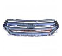 Решетка переднего бампера серебро хром неоригинал для Ford Kuga 2 c 16-19, Escape c 17-19