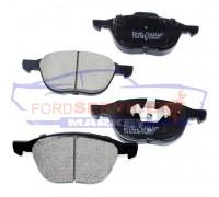 Тормозные колодки керамика передние неоригинал для Ford Focus 2 c 04-11, C-Max 1 c 03-10, Kuga 1 c 08-12