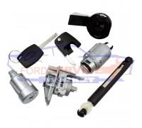 Личинки всех замков комплект неоригинал для Ford Focus 2 c 04-11, C-Max 1 c 03-10