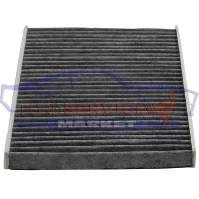 Фильтр салона угольный аналог для Ford Fiesta 7 c 08-18, B-Max c 12-17, EcoSport c 13-, KA+ с 15-, Courier c 14-