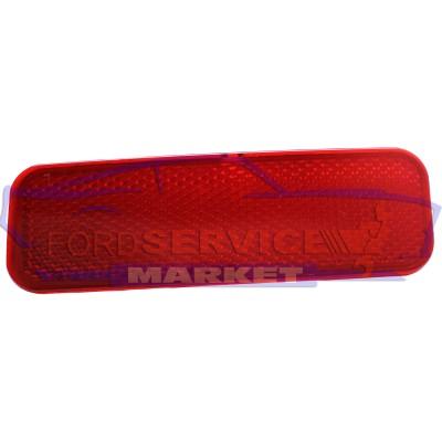 Отражатель катафот заднего бампера левый аналог для Ford Transit с 14-, Custom 13-