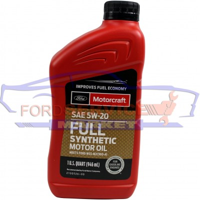 Масло моторное Ford Motorcraft Full Synthetic 5W-20 (0,946л.) для Ford