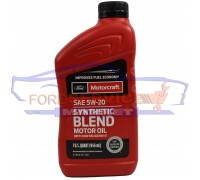 Масло моторное Ford Motorcraft Synthetic Blend 5W-20 (0,946л.) для Ford