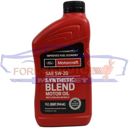 Масло моторное Ford Motorcraft Synthetic Blend 5W-20 (0,946л.) для Ford