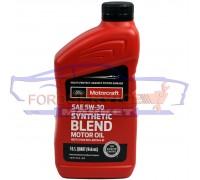 Масло моторное Ford Motorcraft Synthetic Blend 5W-30 (0,946л.) для Ford