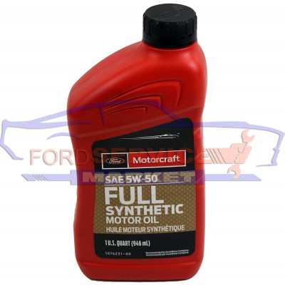 Масло моторне Ford Motorcraft Full Synthetic 5W-50 (0,946.) Для Ford
